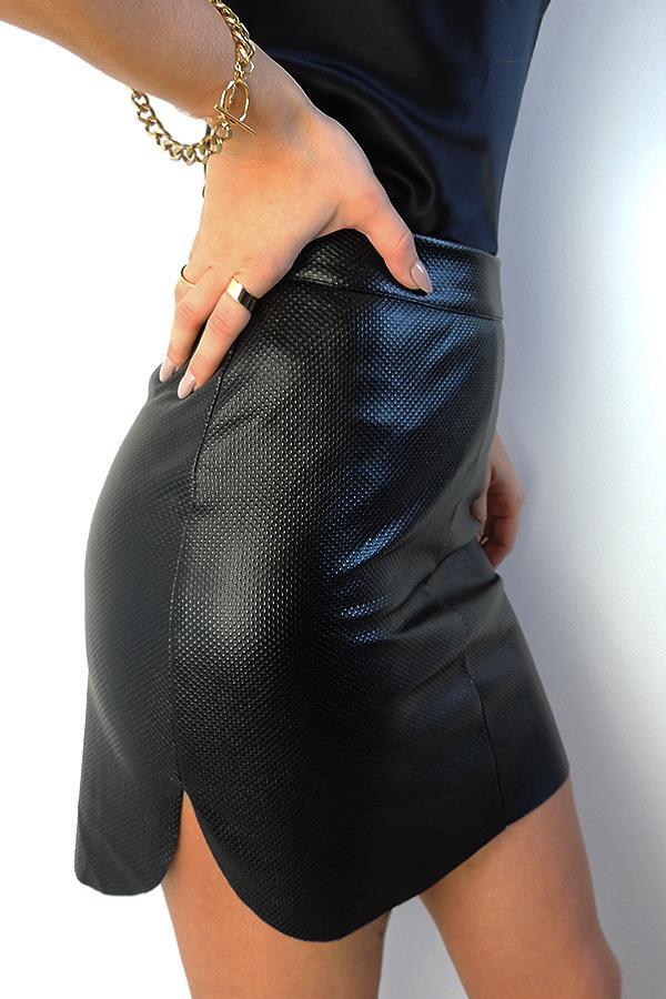 Spódnica Iga z zaokrąglonymi bokami